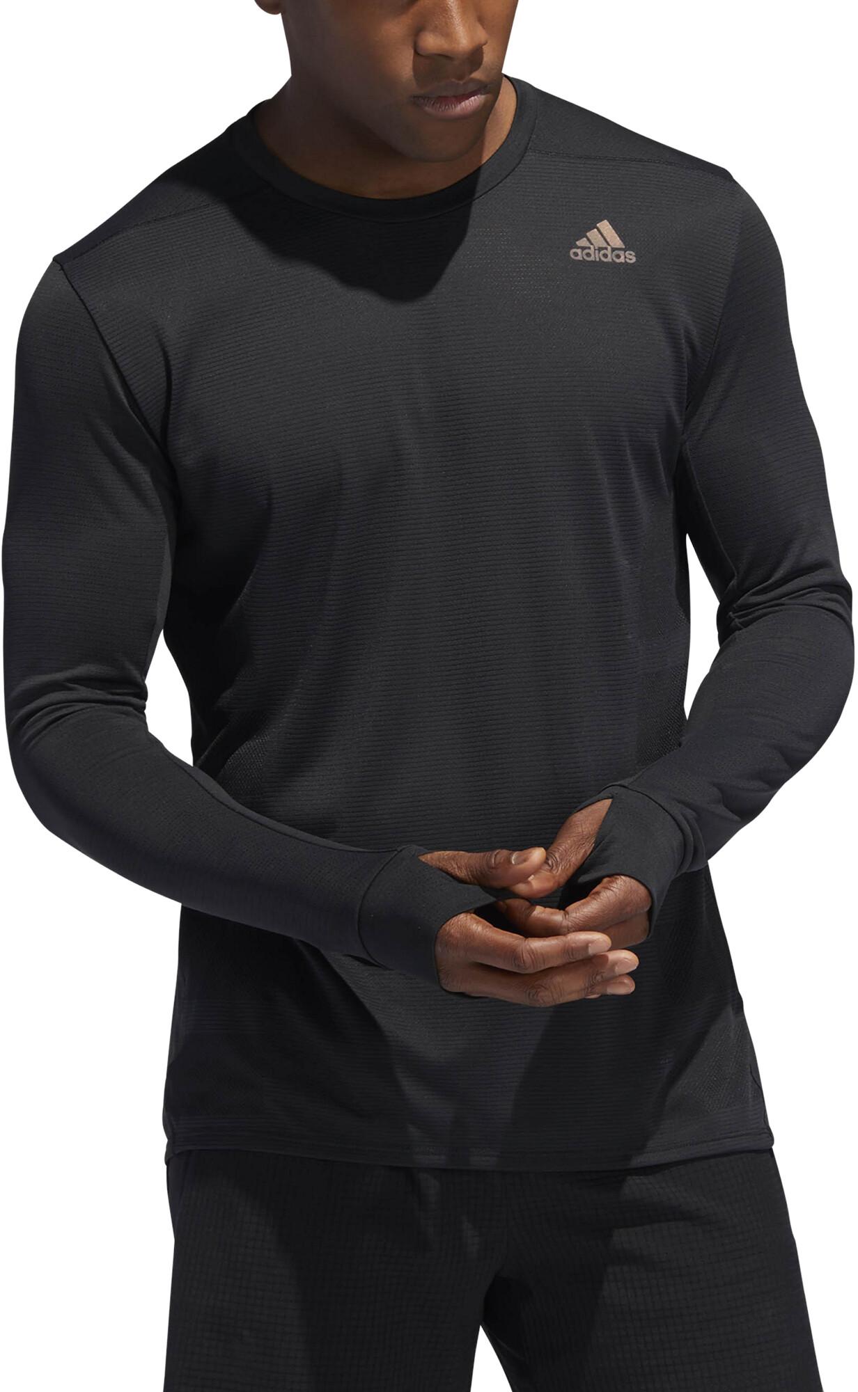 4436cbbae7d5b adidas Supernova - Camiseta manga larga running Hombre - negro ...